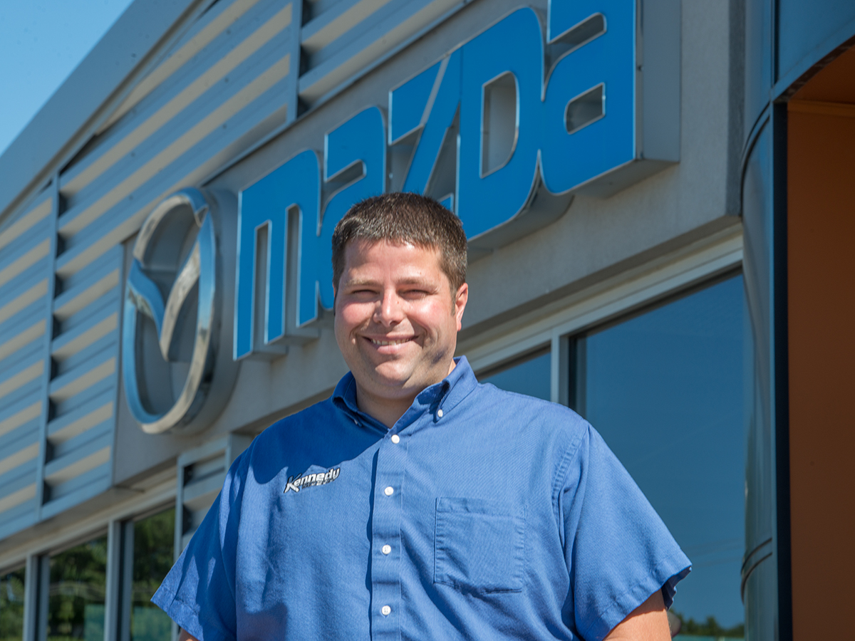 Andrew Thompson at Kennedy Mazda Valpo