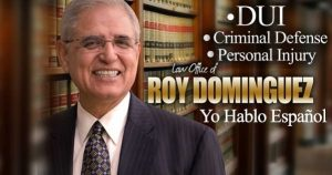 Attorney Roy Dominguez is a DUI, Criminal Defense, and Personal Injury Attorney in Northwest Indiana